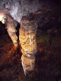Two stalactites 2