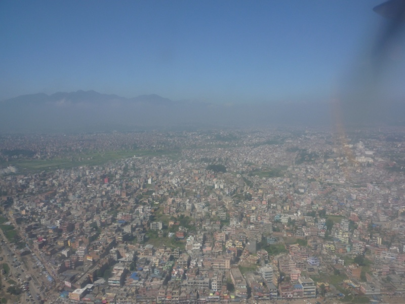 Kathmandu from the air 2