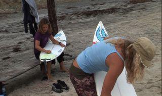 Liz Clark and Anna Santoro 2