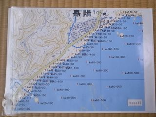 The marker's map for Kayo area