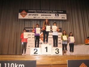 Krissy podium