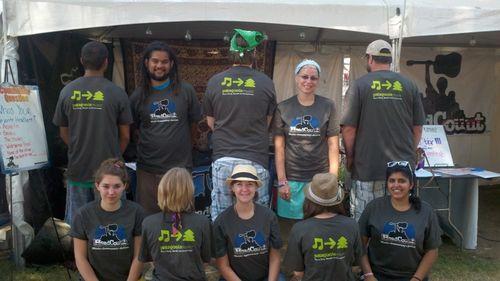 Headcount volunteers Bonnaroo