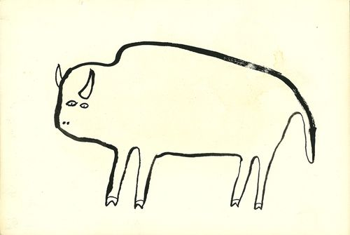 Simple Line Drawings Of Animals : The cleanest line trevor gordon s artful life