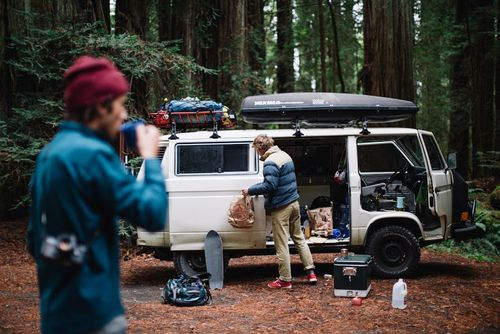 Redwood vanlife