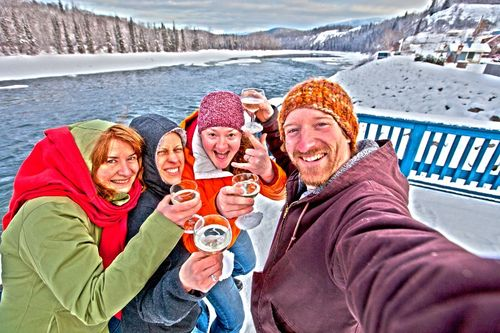 Toasting the Sacred Headwaters Victory