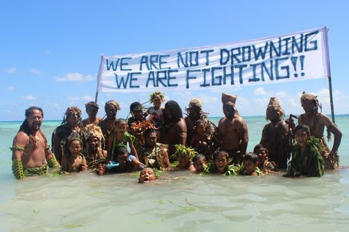 Tokelau Warriors We are not drowning_2